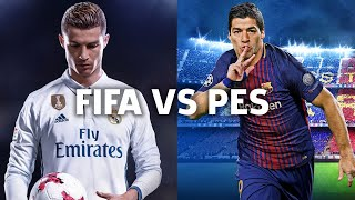 FIFA 18 Vs PES 2018 - Which Is Right For You?