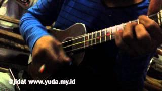 Bengawan Solo - (Belajar Cak/Kentrung/Ukulele)