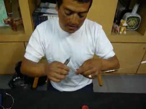 Javier Figuras de alambre Bicicleta
