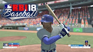 R.B.I. Baseball 18 Gameplay Boston Red Sox vs Toronto Blue Jays 3 Inning Game Xbox One