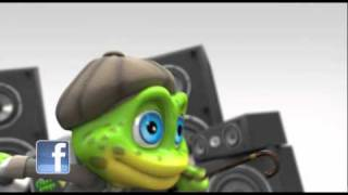 The Crazy Frogs - The Ding Dong Song - Vidéo Officielle (HD)