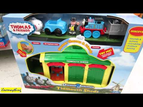 Tidmouth Sheds Thomas & Friends Play Set by Discover Junction