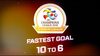 #FridayFives: AFC Champions League fastest goal