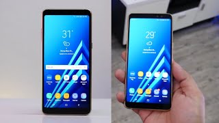 Samsung Galaxy A8 & A8 2018 Hand On Review In Hindi | A8 2018 Is Here | Techno Rohit |
