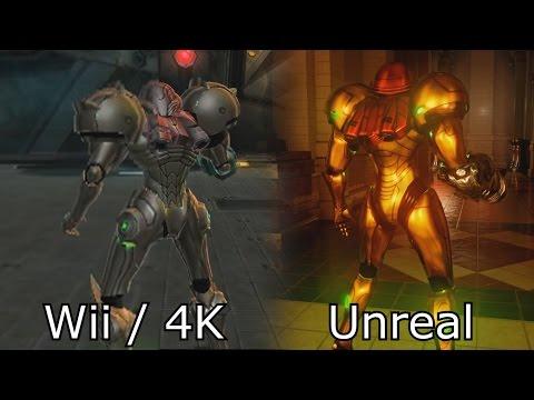 Metroid Prime 4K HD - Nintendo Switch / Next Gen vs Wii Graphics Comparison
