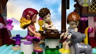 The Elves' Treetop Hideaway  - LEGO Elves -  Product Animation 41075
