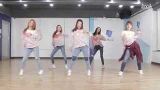 CLC (씨엘씨) - Pepe Dance Practice Ver. (Mirrored)