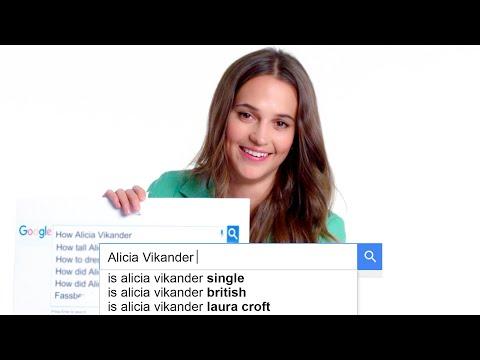 Xxx Mp4 Alicia Vikander Answers The Web S Most Searched Questions WIRED 3gp Sex