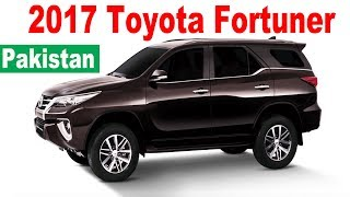 2017 Toyota Fortuner in Pakistan