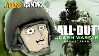 Neebs Plays Call of Duty 4  - HOW MUCH OF THIS CAN WE TAKE!?
