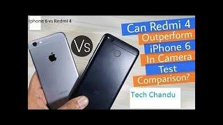 iPhone 6 Vs Redmi 4 speed test comparison