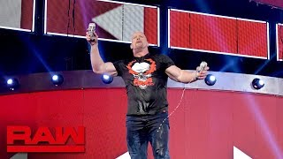 """""""Stone Cold"""" keeps the party going after Raw Reunion: Raw Exclusive, July 22, 2019"""