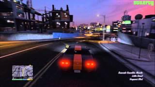 GTA 5 PS3 - Mission #77 - Gauntlet #1 - Pillbox Hill (Subtle) [100% - Gold Medal]