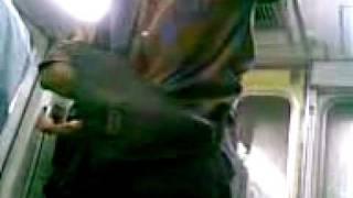 بلطجى يصيب عده مواطنين بالسلاح الحى فى مترو الانفاق