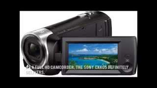 Sony CX405 Price Info|Sony HDR CX405 HD Handycam Camcorder
