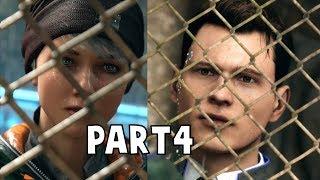 Connor Meets Kara - Detroit Become Human FullGame Walkthrough Part 4 [HD PS4 Pro]