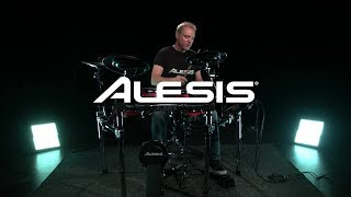 Alesis Crimson II Mesh Electronic Drum Kit - kit sounds | Gear4music demo