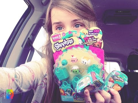 SHOPKINS SEASON 3!!!!!! Toy Hunting! Come shopping with me and UNBOXING!!!!