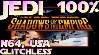 Star Wars: Shadows Of The Empire Speedrun (JEDI 100% Glitchless, English) In 1:22:36