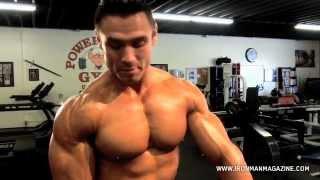 Shoulder Workouts IFBB Pro Matt Christianer Shoulder Training with Iron Man Magazine