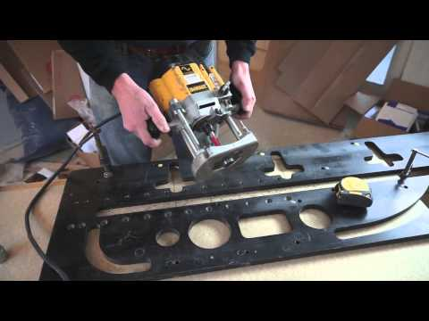 Tommy s Trade Secrets How to Mitre a Worktop using a Router & Jig