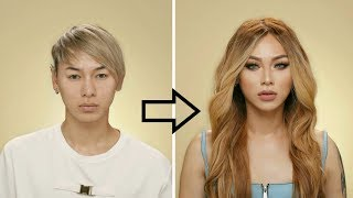 Guy to Girl Makeup Transformation !!!