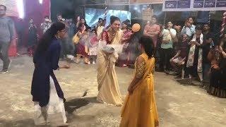 Durga Puja: Sushmita Sen performs