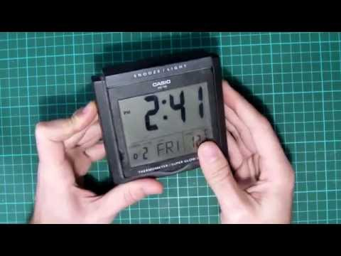 limpiando los contactos de un display lcd de reloj