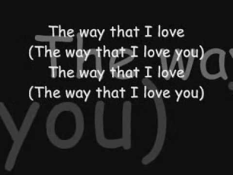 Ashanti The Way That I Love You with lyrics