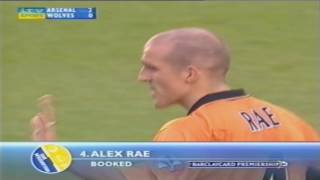 Arsenal vs Wolves PL 2003/04 EXTENDED HIGHLIGHTS