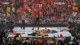 Great Finish by THE UNDERTAKER @ Raw 21,04,08 KingOfTheRing