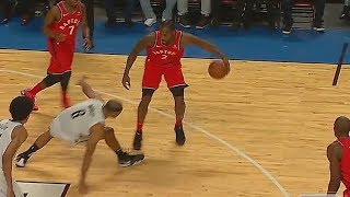 Kawhi Leonard SHOWS OFF Great Handles and Passes! Raptors vs Nets