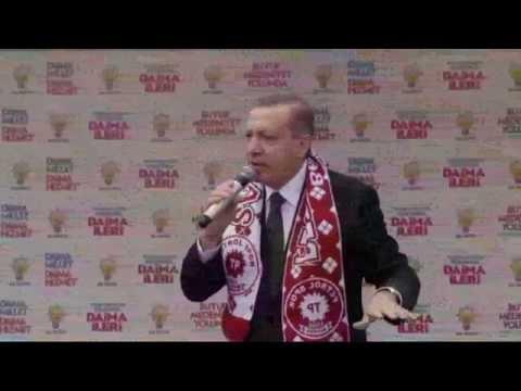 Cumhurbaşkanı Erdoğan Bayrak Şiirini Okudu