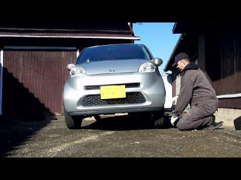 Snow Tyre Time in Japan