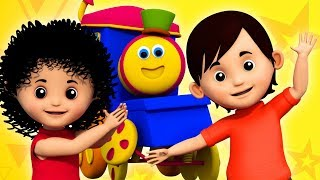 If You Are Happy | Bob The Train | Kindergarten Video For Toddlers | Nursery Rhymes For Babies
