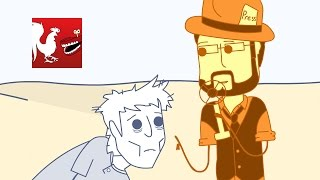 Old Timey Burnie's Announcement – Rooster Teeth Animated Adventures