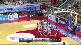 Philippines vs. Iran - Q2 | JONES CUP 2015