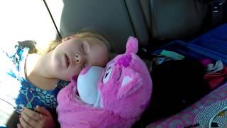 My sister sleeping
