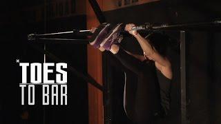 Técnica Toes to Bar (T2B) - CrossFit
