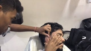 Young Indian Barber - Head And Upper Body Massage (Gulzar)| ASMR