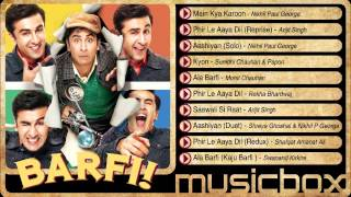 Barfi! Jukebox - Ranbir Kapoor | Priyanka Chopra | Ileana D'Cruz