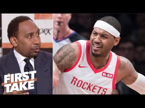 Xxx Mp4 Carmelo Anthony Should Go To Lakers Heat Or Just Retire Stephen A First Take 3gp Sex
