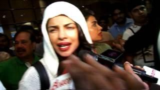 Priyanka Chopra returns home, spotted at the airport