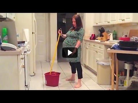 Este Marido Graba A Escondida A Su Mujer Embarazada Bailando En La Cocina… Lo Que Pasa