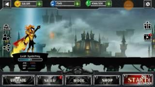 Stickman Legends - HellMode● Boss 1/4● Undead Castle!