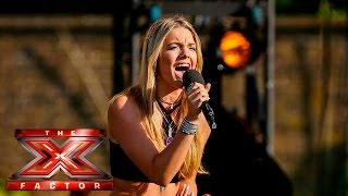 Louisa Johnson stuns with Sam Smith cover   Boot Camp   The X Factor UK 2015