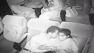 Hidden camera or Night vision cameras in theatre to catch couples