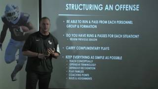 Learn How to Structure an Offense! - Football 2017 #1