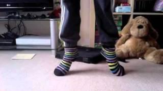 Pointe ballet socks