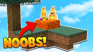 TWO NOOBS PLAY SKYWARS!
